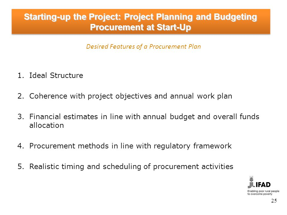 Starting-up the Project: Procurement