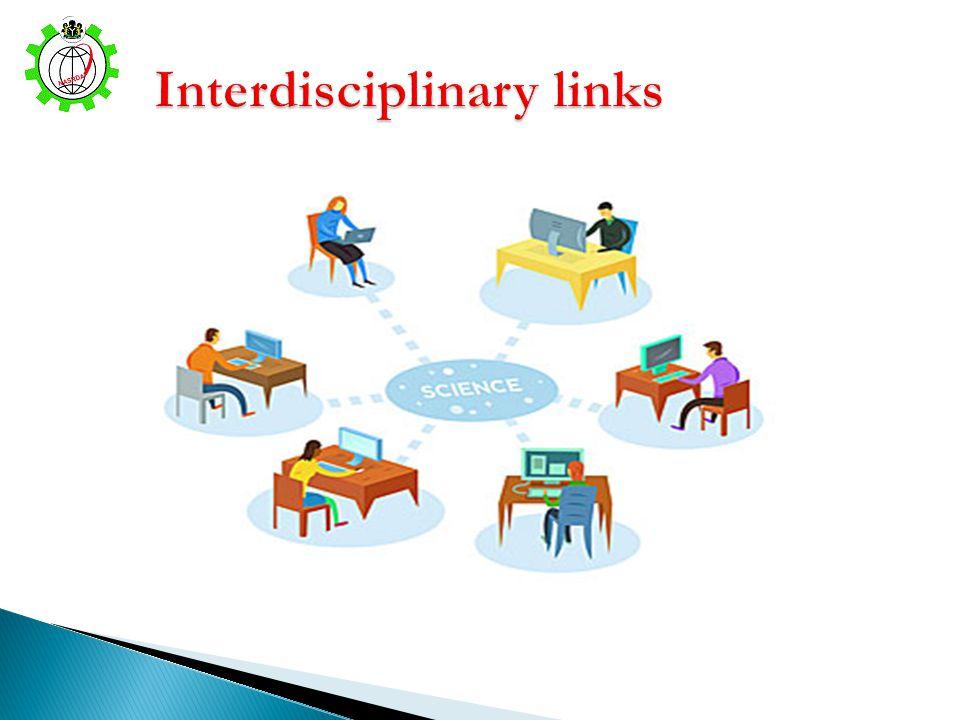 Interdisciplinary links