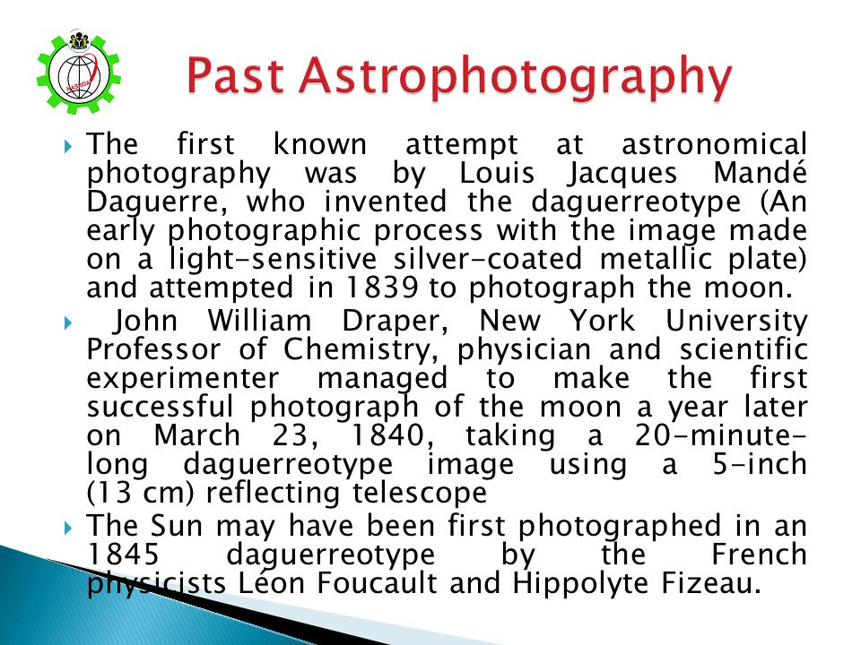 Past Astrophotography
