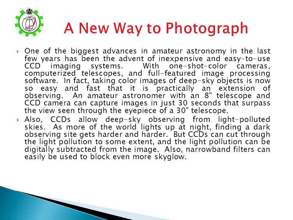 A New Way to Photograph