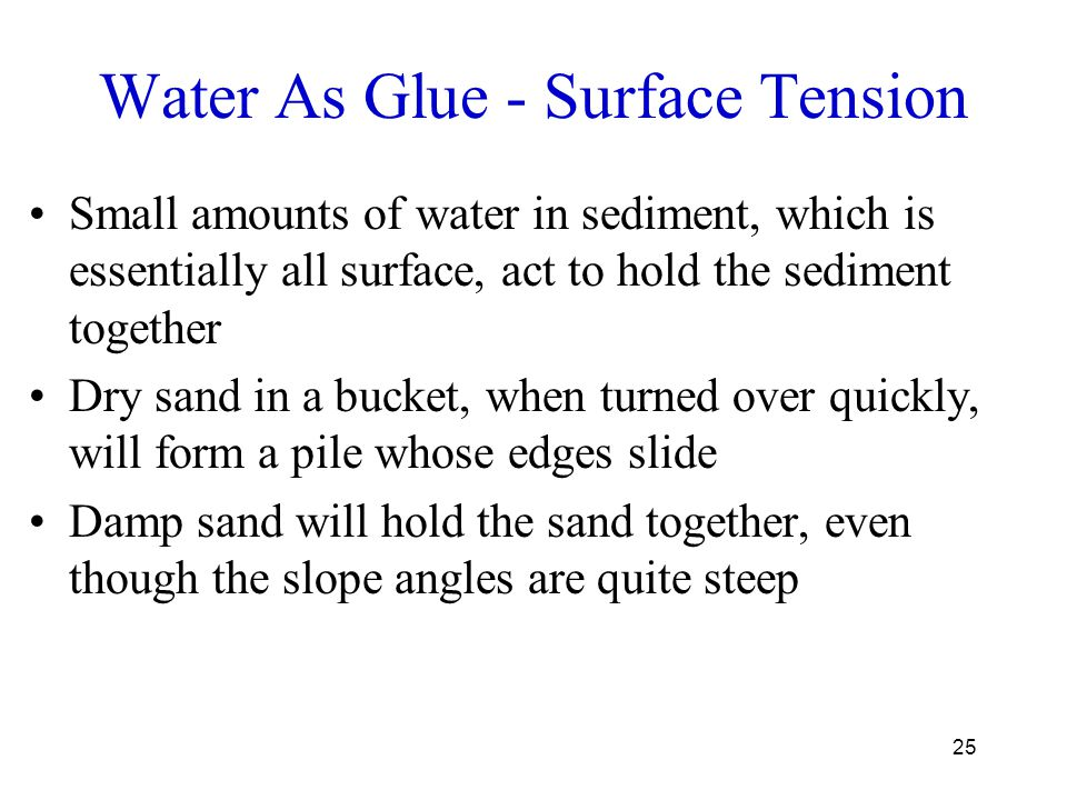 Water As Glue - Surface Tension