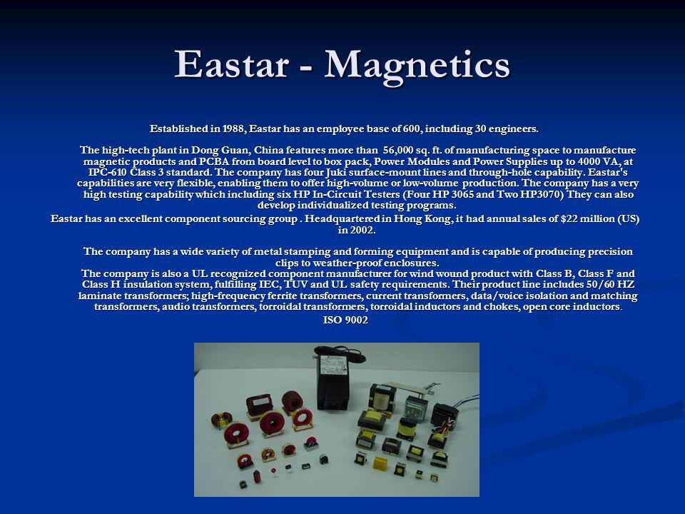 Eastar - Magnetics