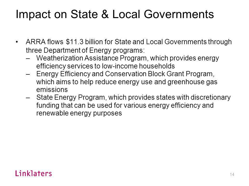 Energy Efficiency & Renewable Energy Grants
