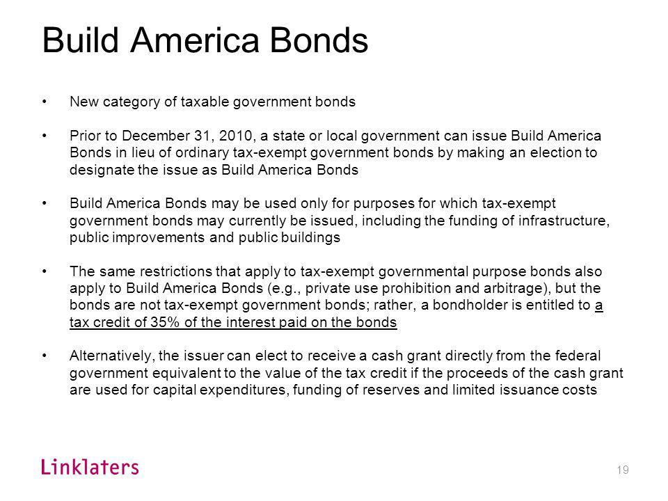 Clean Renewable Energy Bonds (CREBs)