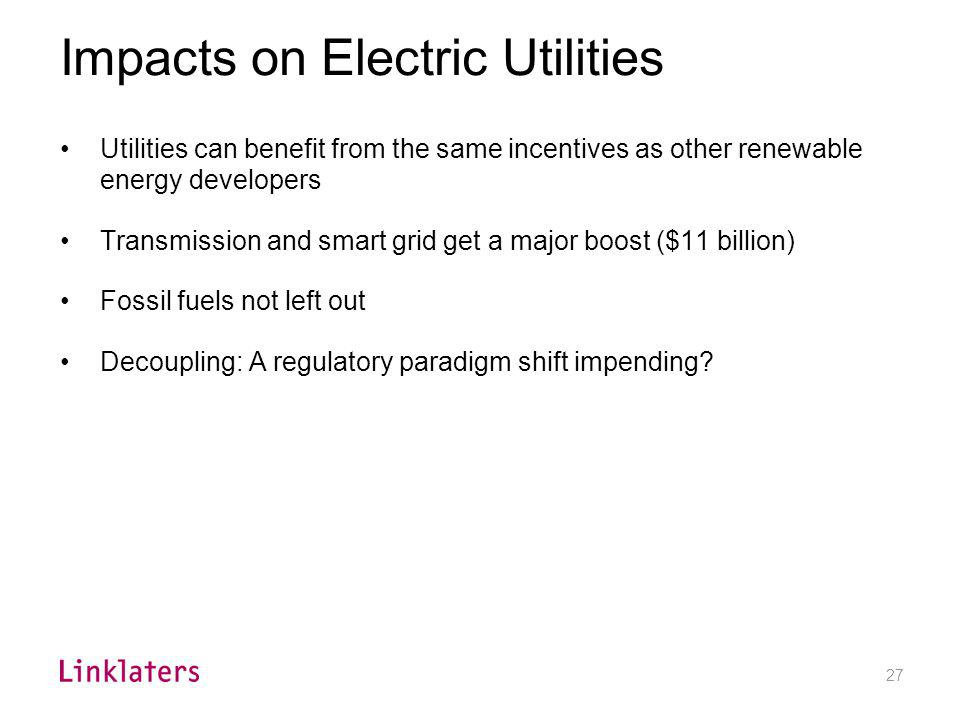 Utilities and the Section 48 Investment Tax Credit