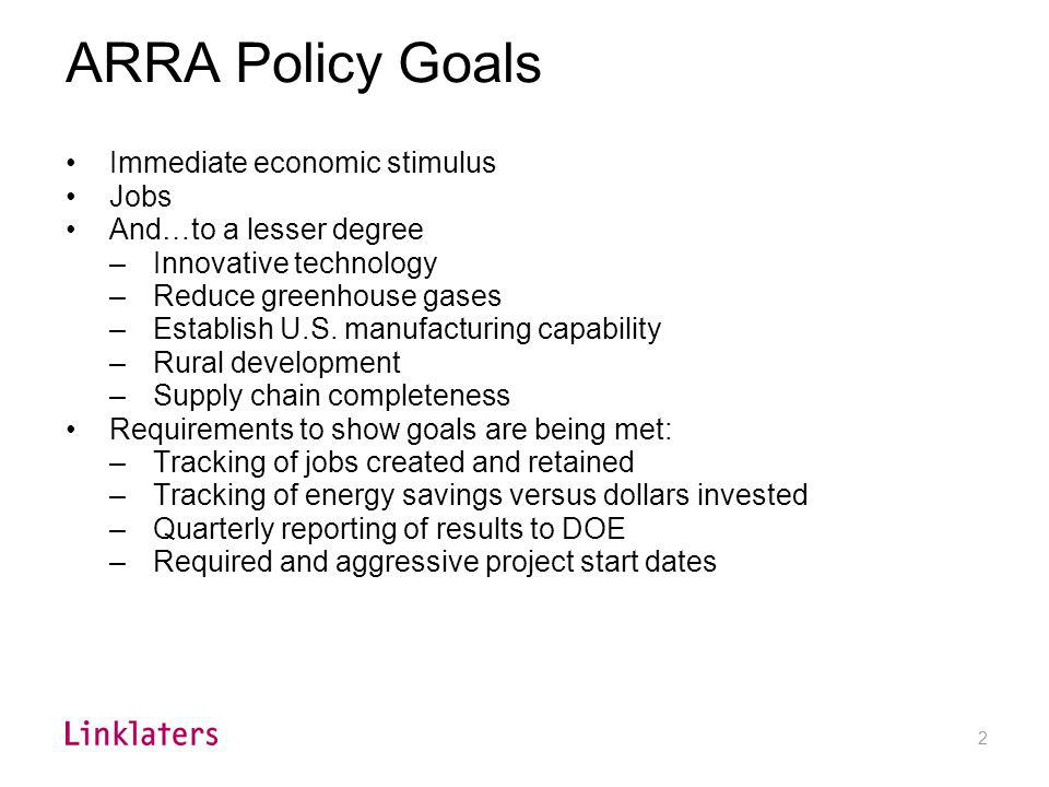How Big is the ARRA Commitment to Renewable Energy