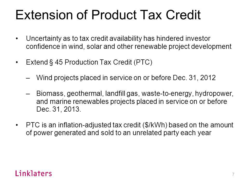 Election to Claim Energy Investment Tax Credit