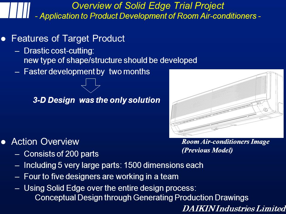 Features of Target Product