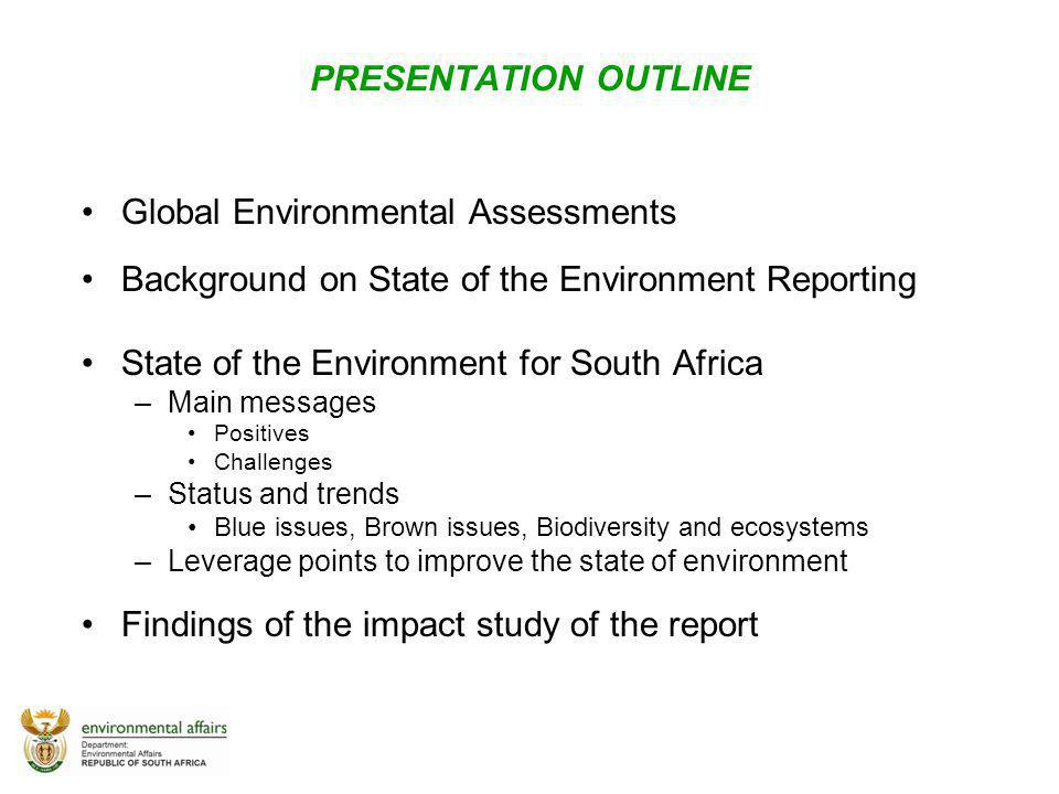 Global Environmental Assessments