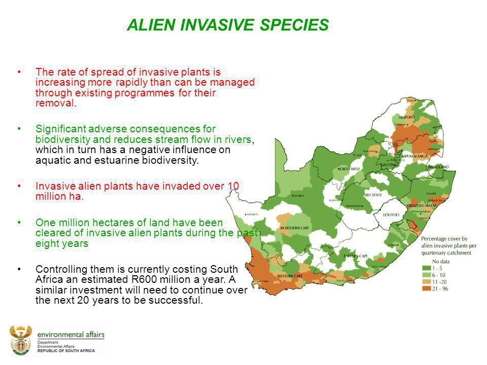 ALIEN INVASIVE SPECIES