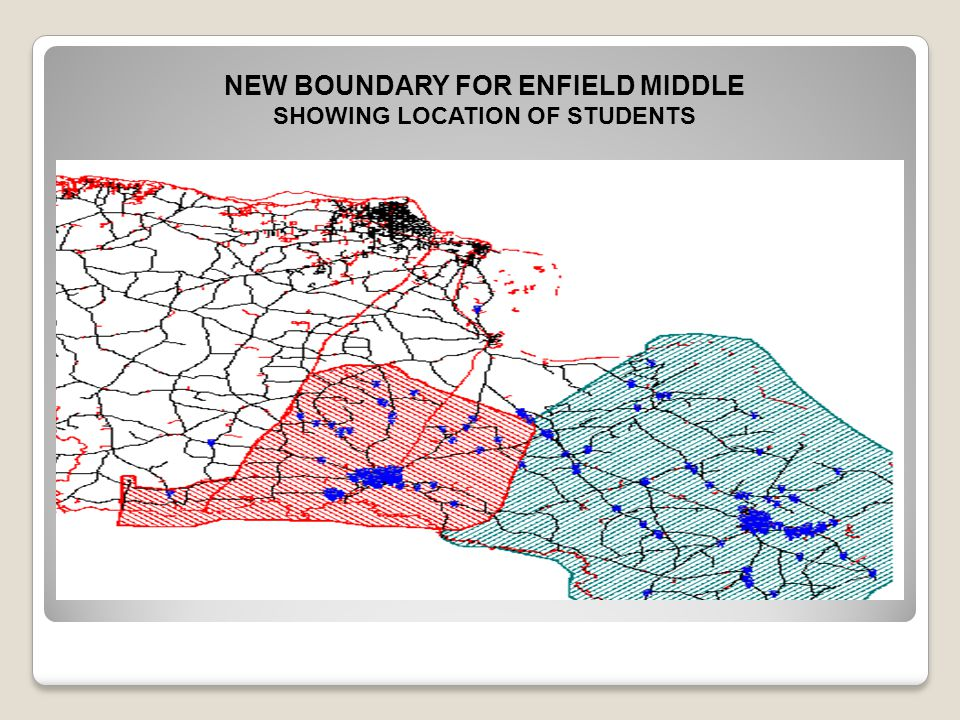 NEW BOUNDARY FOR ENFIELD MIDDLE