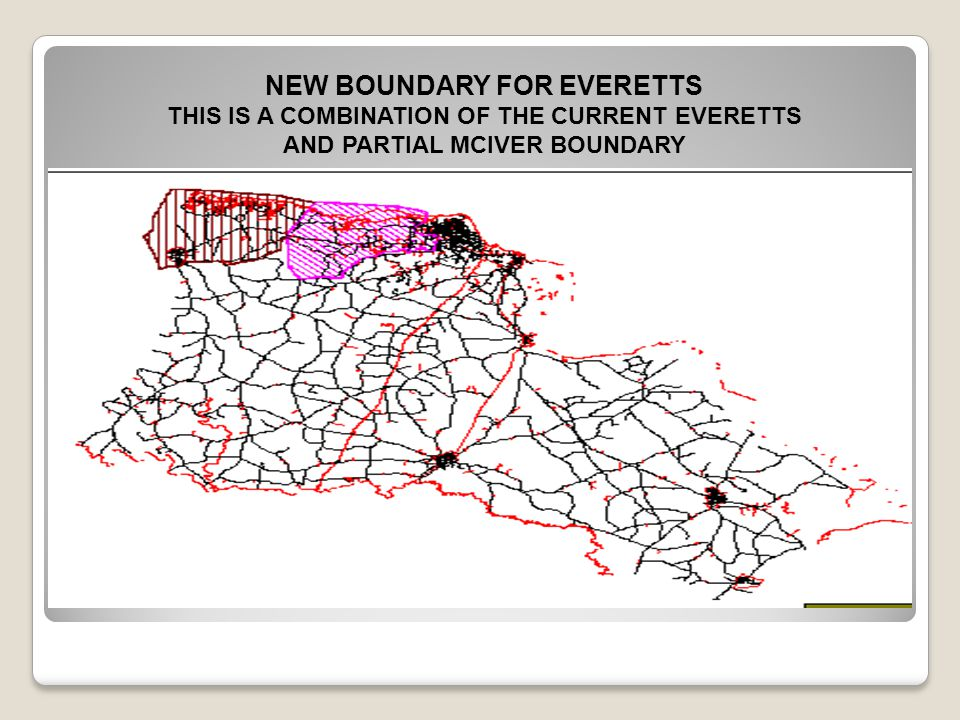 NEW BOUNDARY FOR EVERETTS