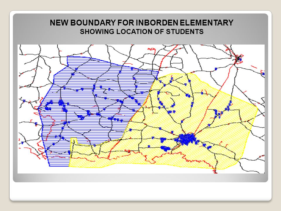 NEW BOUNDARY FOR INBORDEN ELEMENTARY