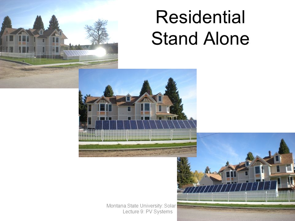 Residential Stand Alone