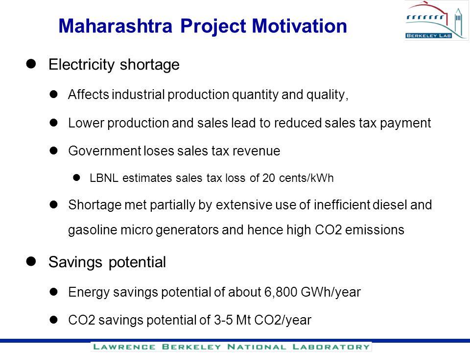 Maharashtra Project Motivation