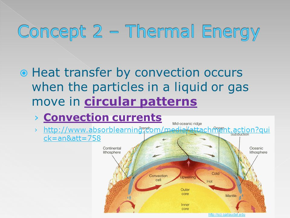 Concept 2 – Thermal Energy