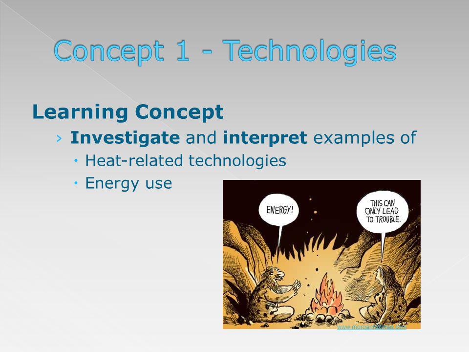 Concept 1 - Technologies