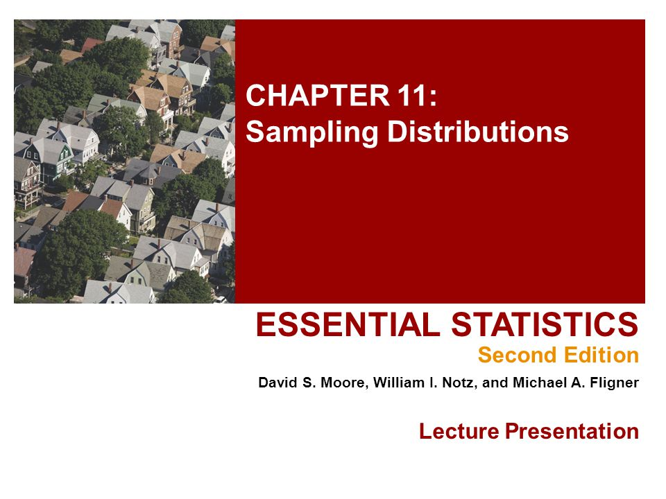 CHAPTER 11: Sampling Distributions