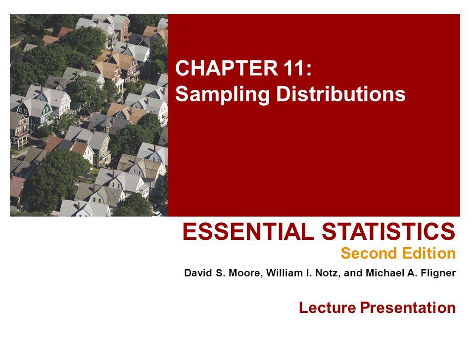 CHAPTER 11: Sampling Distributions