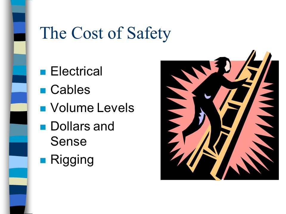 The Cost of Safety Electrical Cables Volume Levels Dollars and Sense