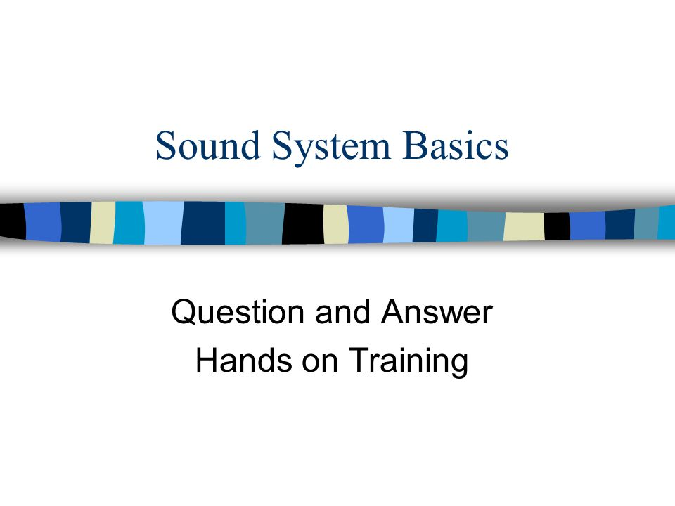Question and Answer Hands on Training