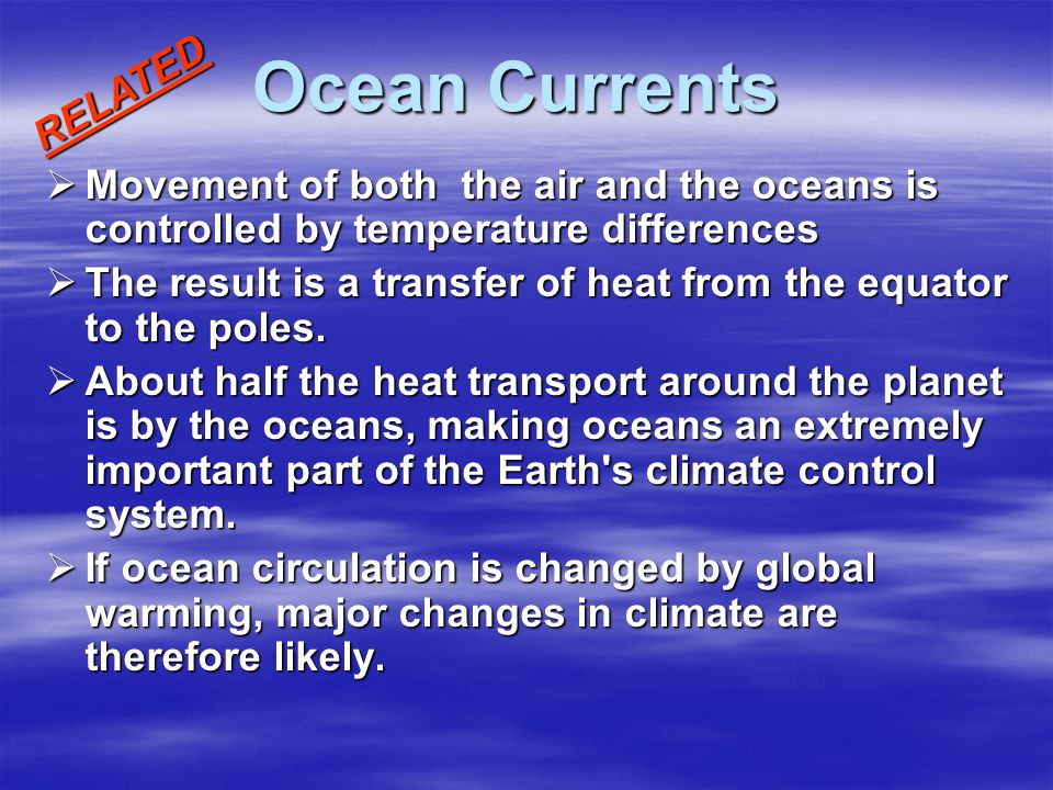Ocean Currents RELATED