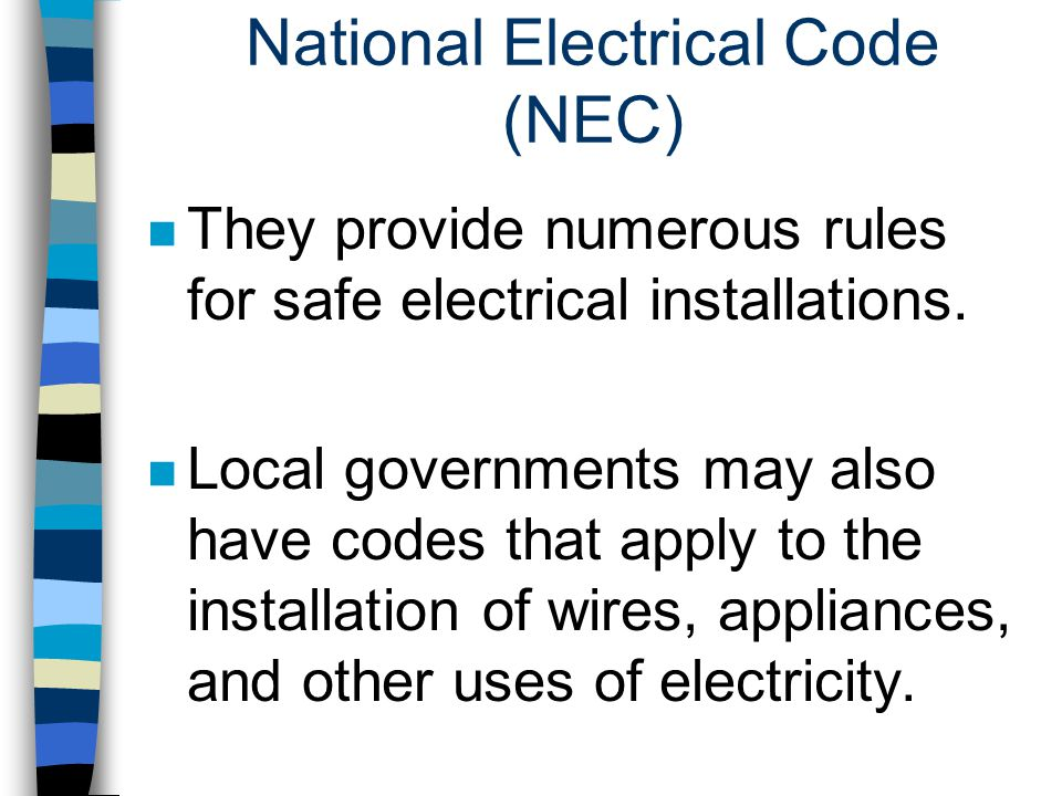 National Electrical Code (NEC)
