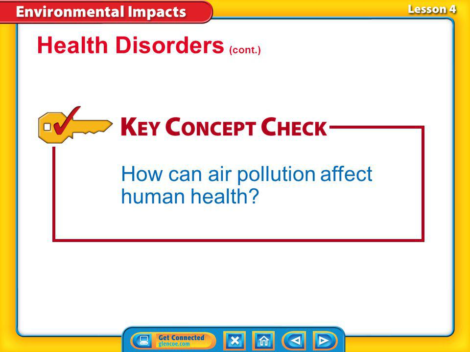 Health Disorders (cont.)