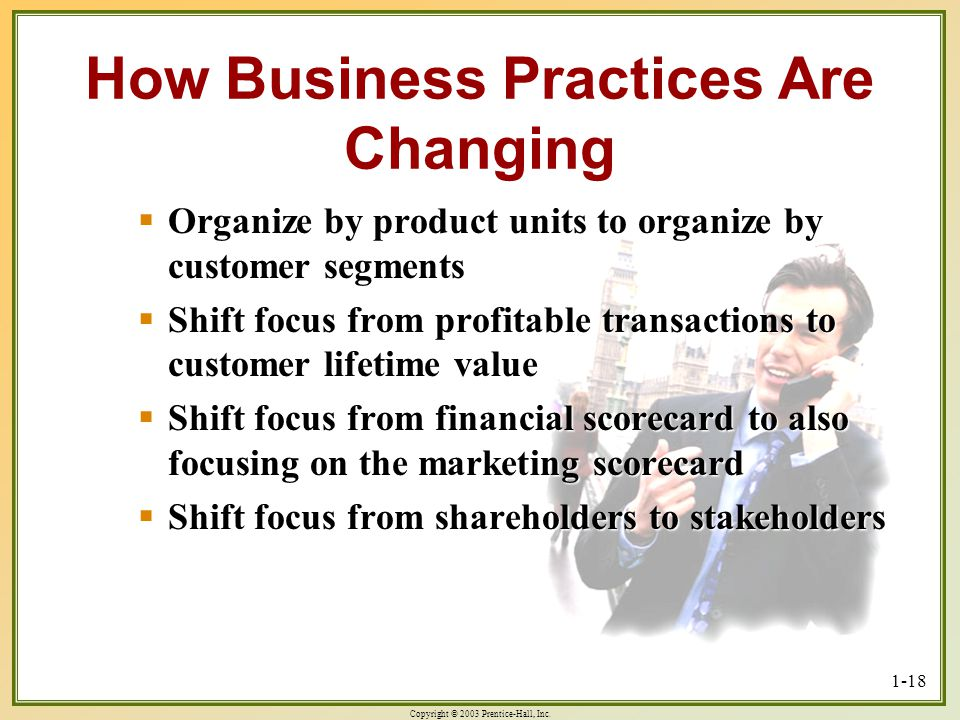 How Business Practices Are Changing