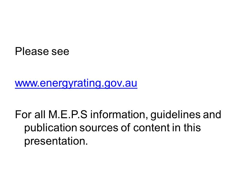 Please see www.energyrating.gov.au.