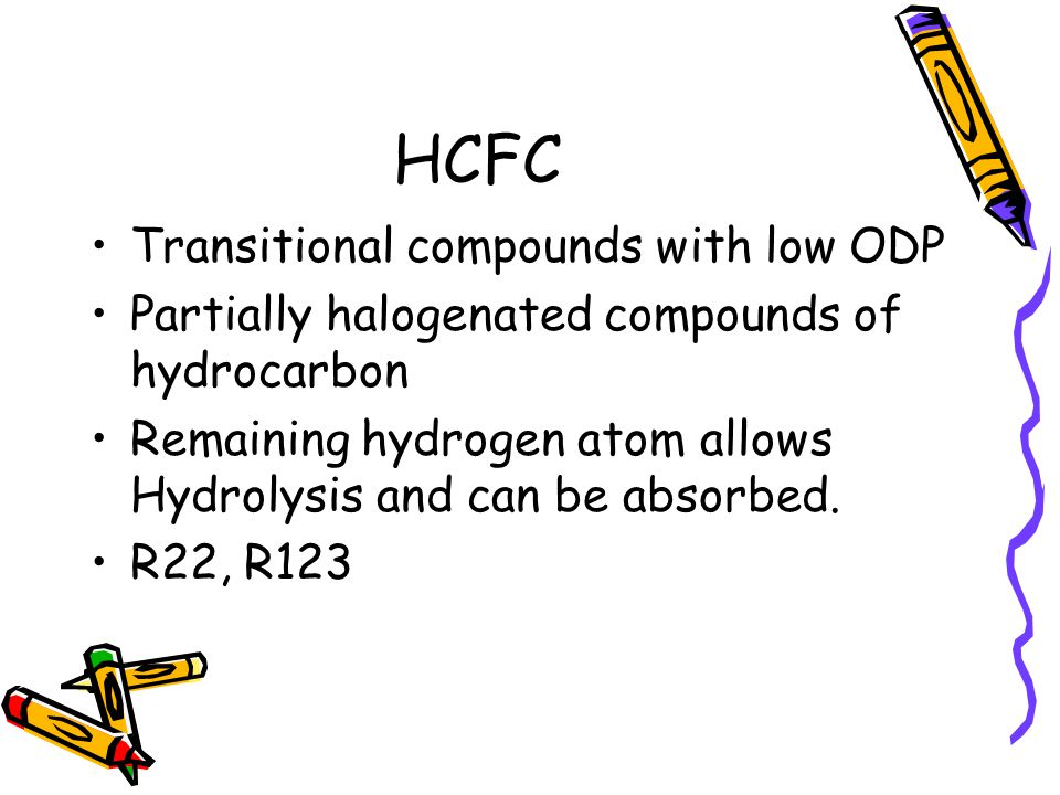 HCFC Transitional compounds with low ODP