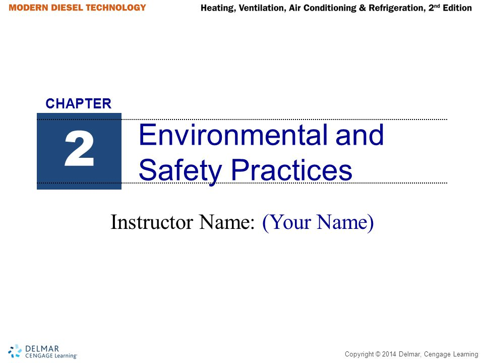 Environmental and Safety Practices