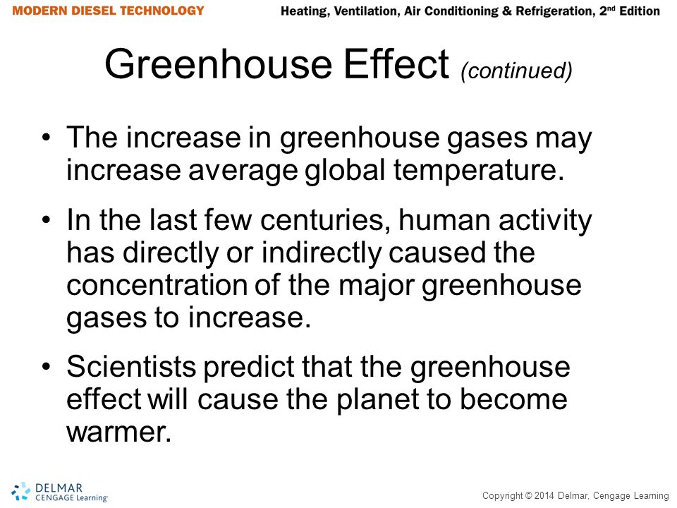 Greenhouse Effect (continued)