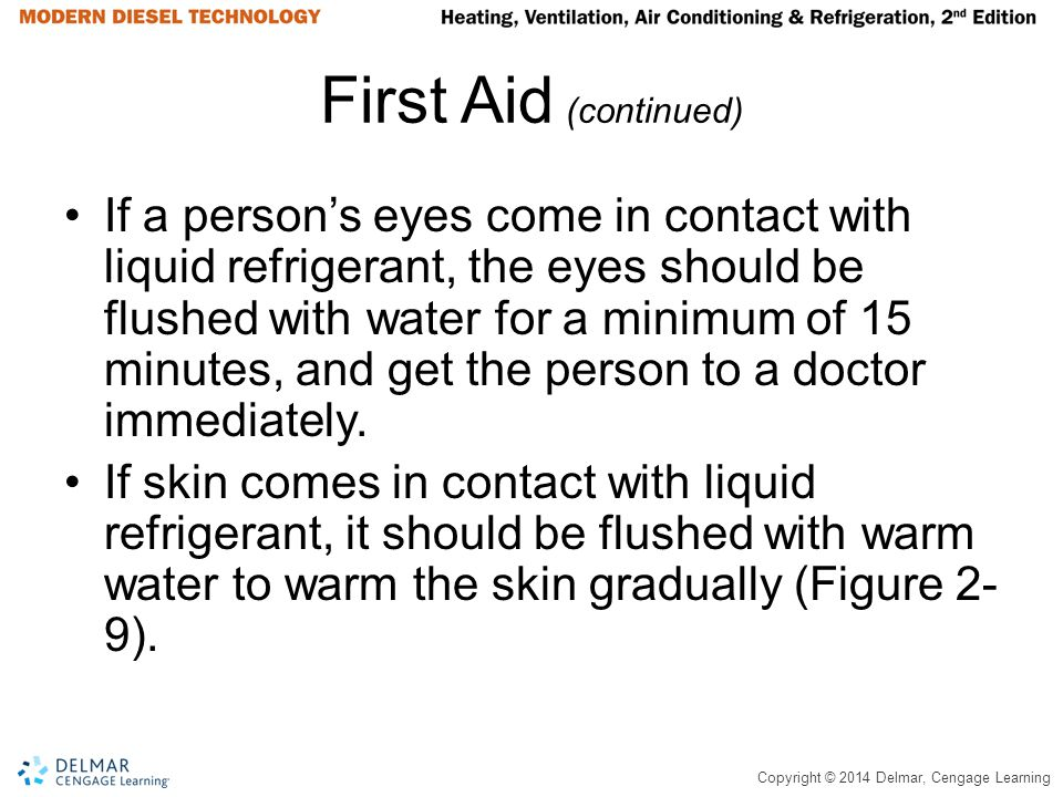First Aid (continued)