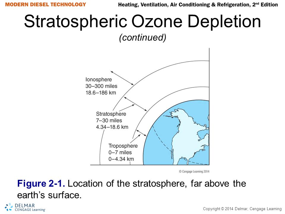 Stratospheric Ozone Depletion (continued)