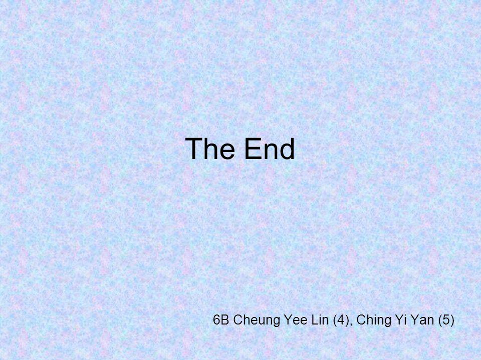 6B Cheung Yee Lin (4), Ching Yi Yan (5)