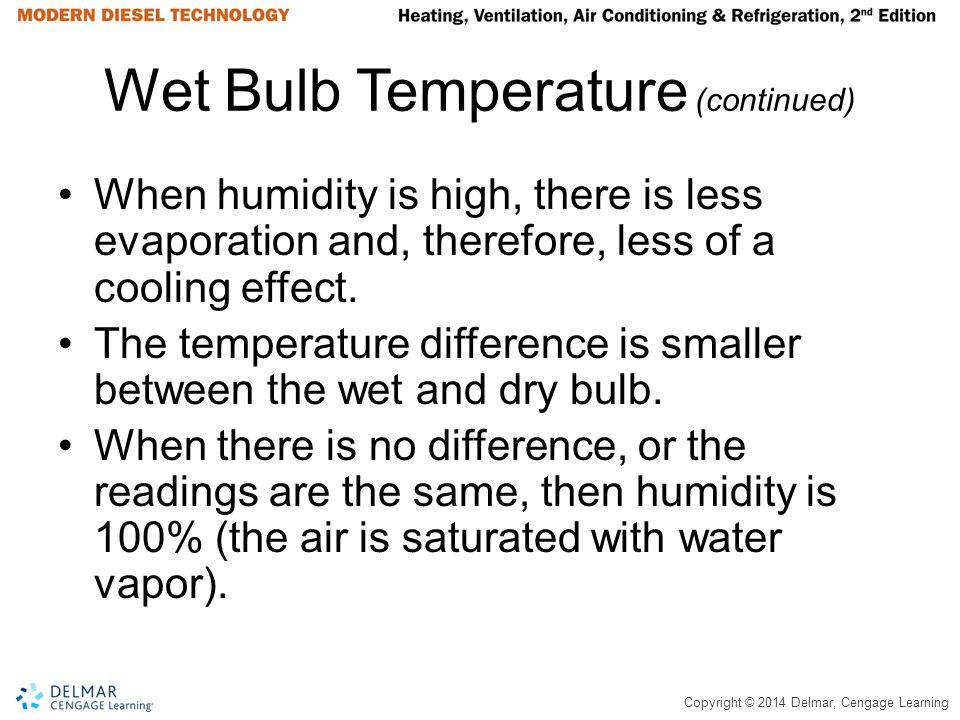 Wet Bulb Temperature (continued)
