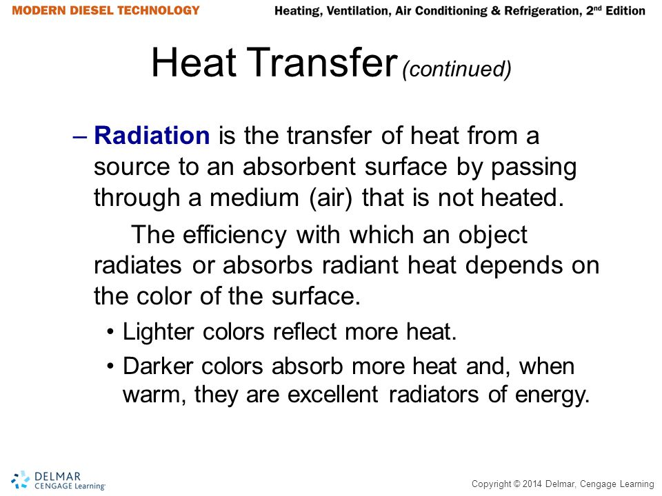 Heat Transfer (continued)