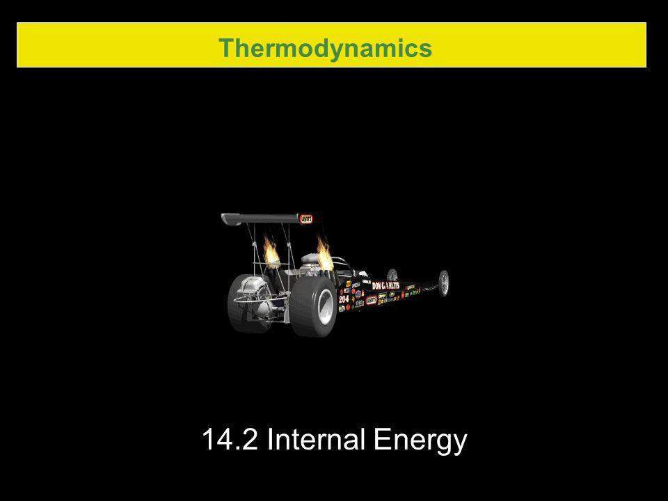 Thermodynamics 14.2 Internal Energy