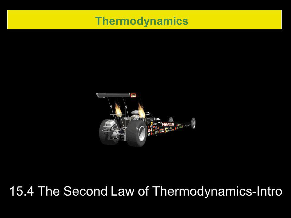 15.4 The Second Law of Thermodynamics-Intro