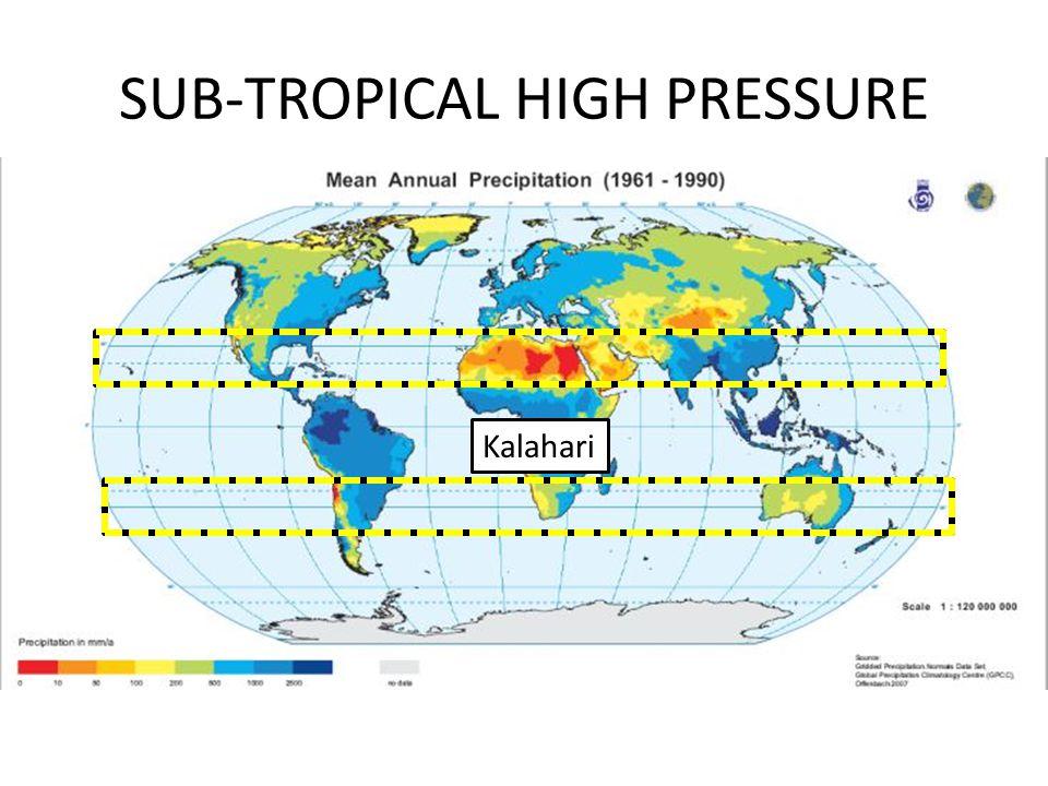 SUB-TROPICAL HIGH PRESSURE