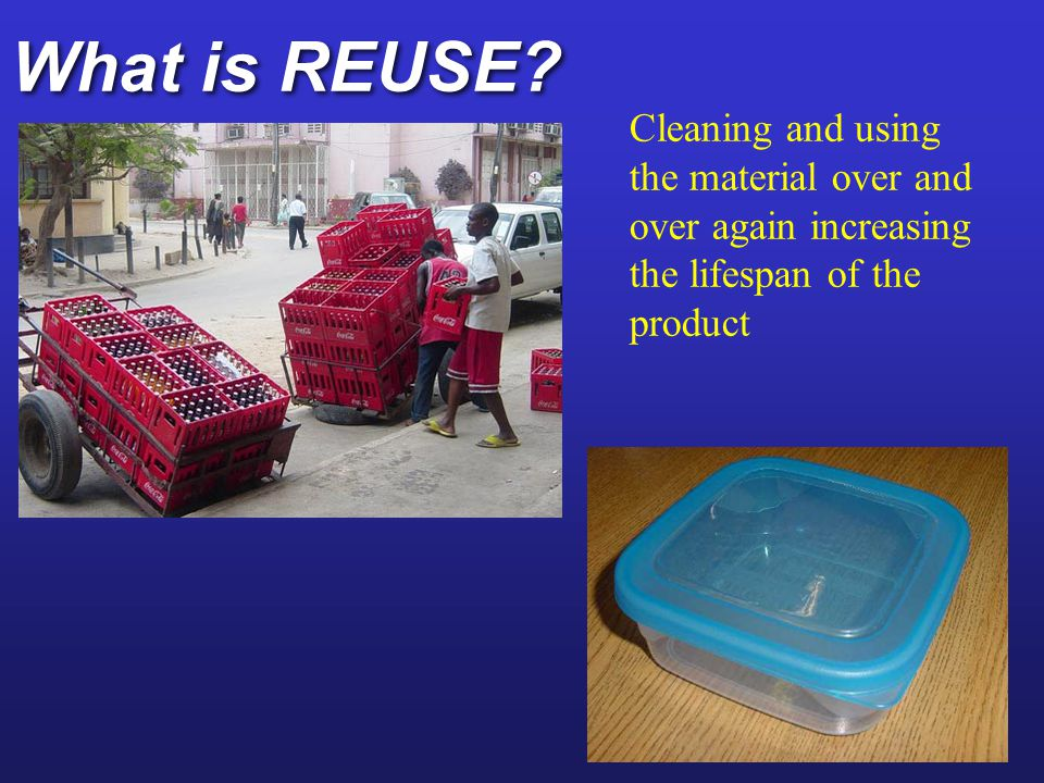 What is REUSE.