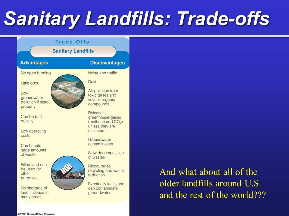 Sanitary Landfills: Trade-offs
