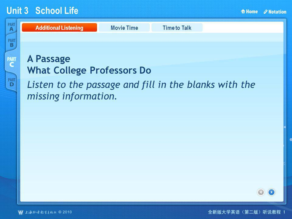 PartC_1 A Passage What College Professors Do