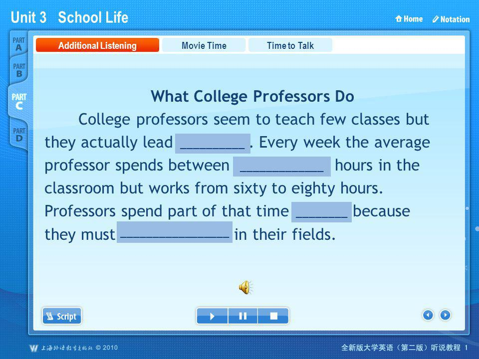 PartC_1 What College Professors Do