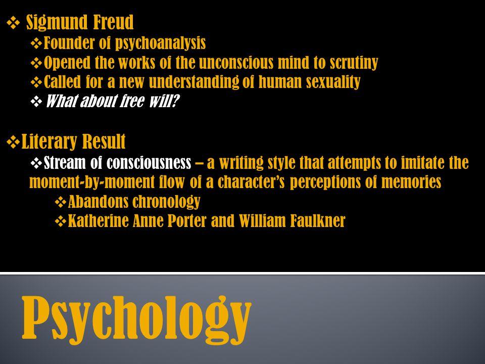 Psychology Sigmund Freud Literary Result Founder of psychoanalysis