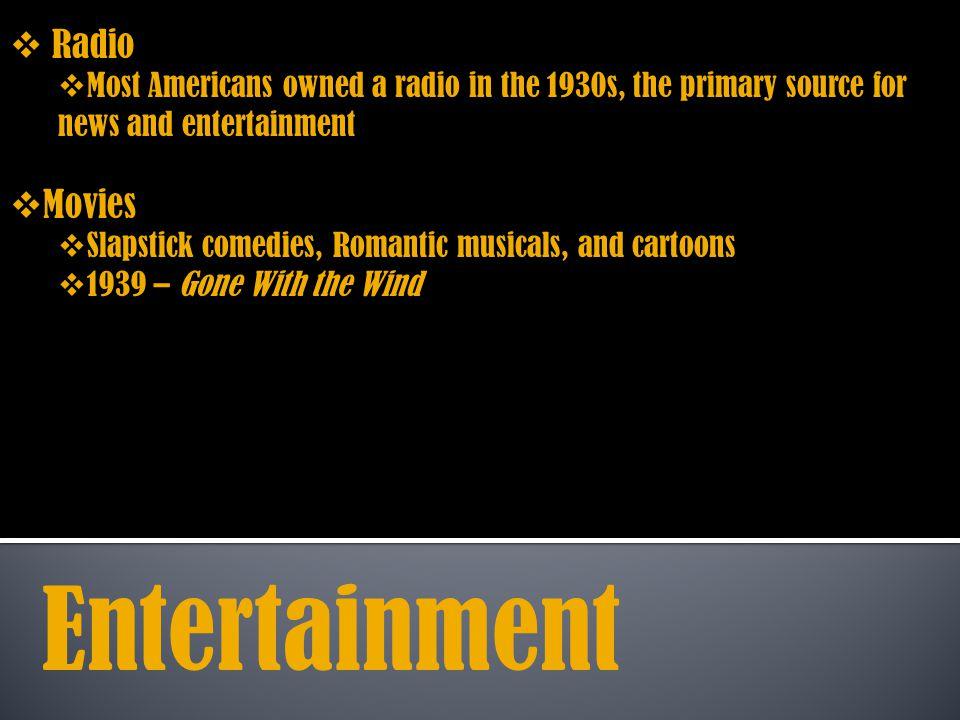 Entertainment Radio Movies