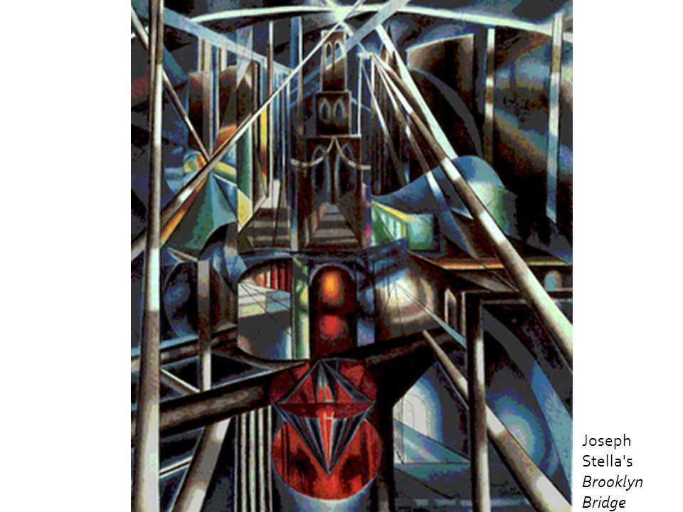 Joseph Stella s Brooklyn Bridge