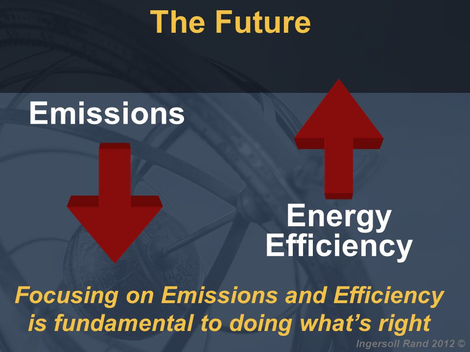 The Future Emissions Energy Efficiency