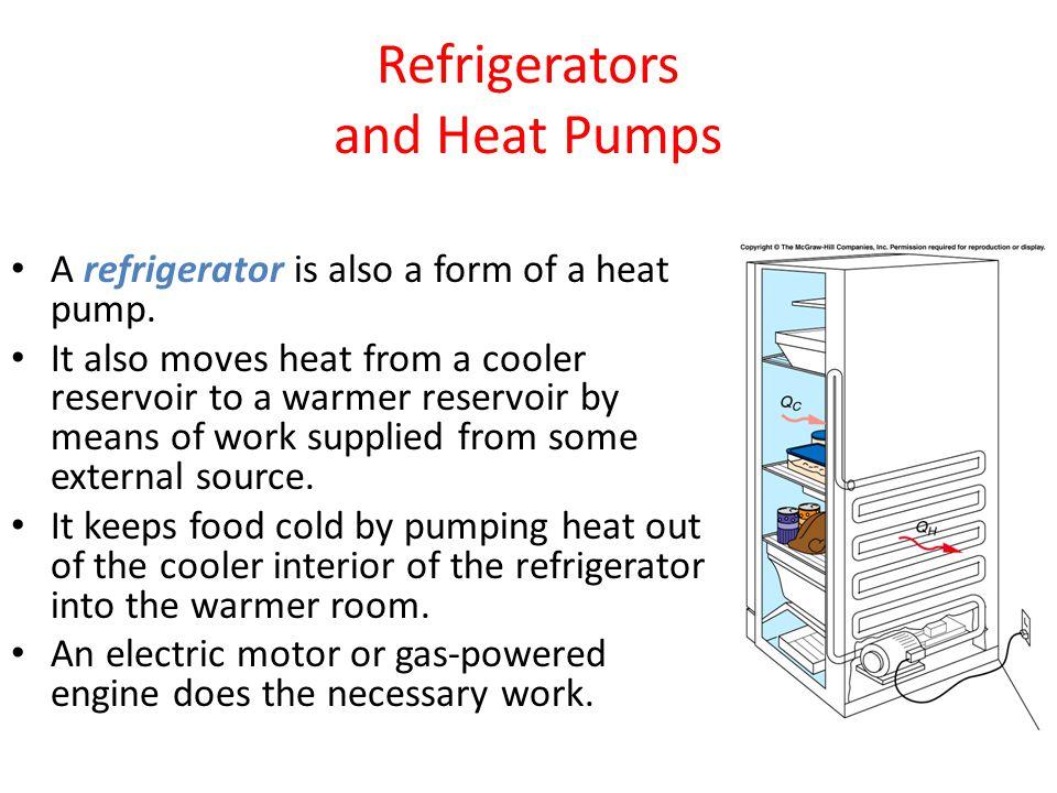 Refrigerators and Heat Pumps